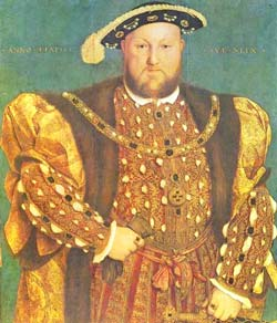 Ханс Хольбейн-младший. Генрих VIII. Вторая четверть 16 века. Масло, холст. Палаццо Барберини, Рим.